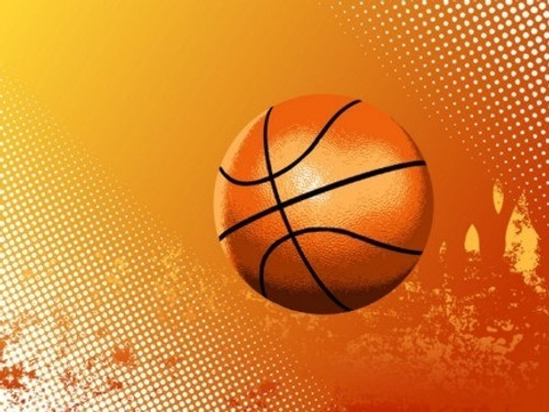 basketball sports backdrop