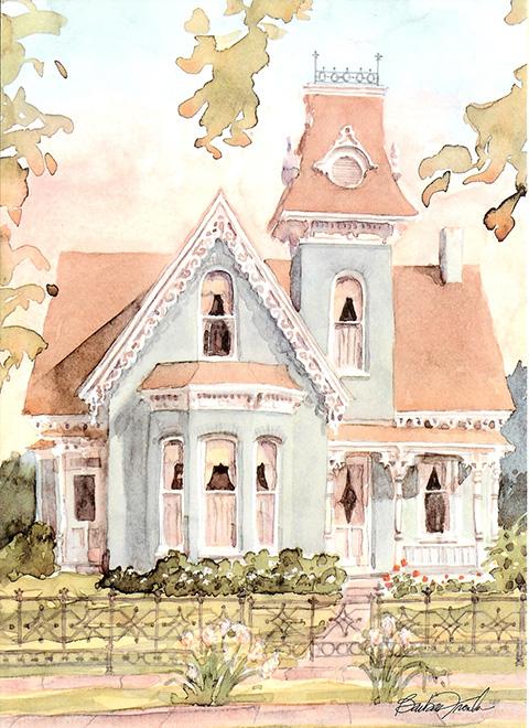 BF107 - Victorian Cottage