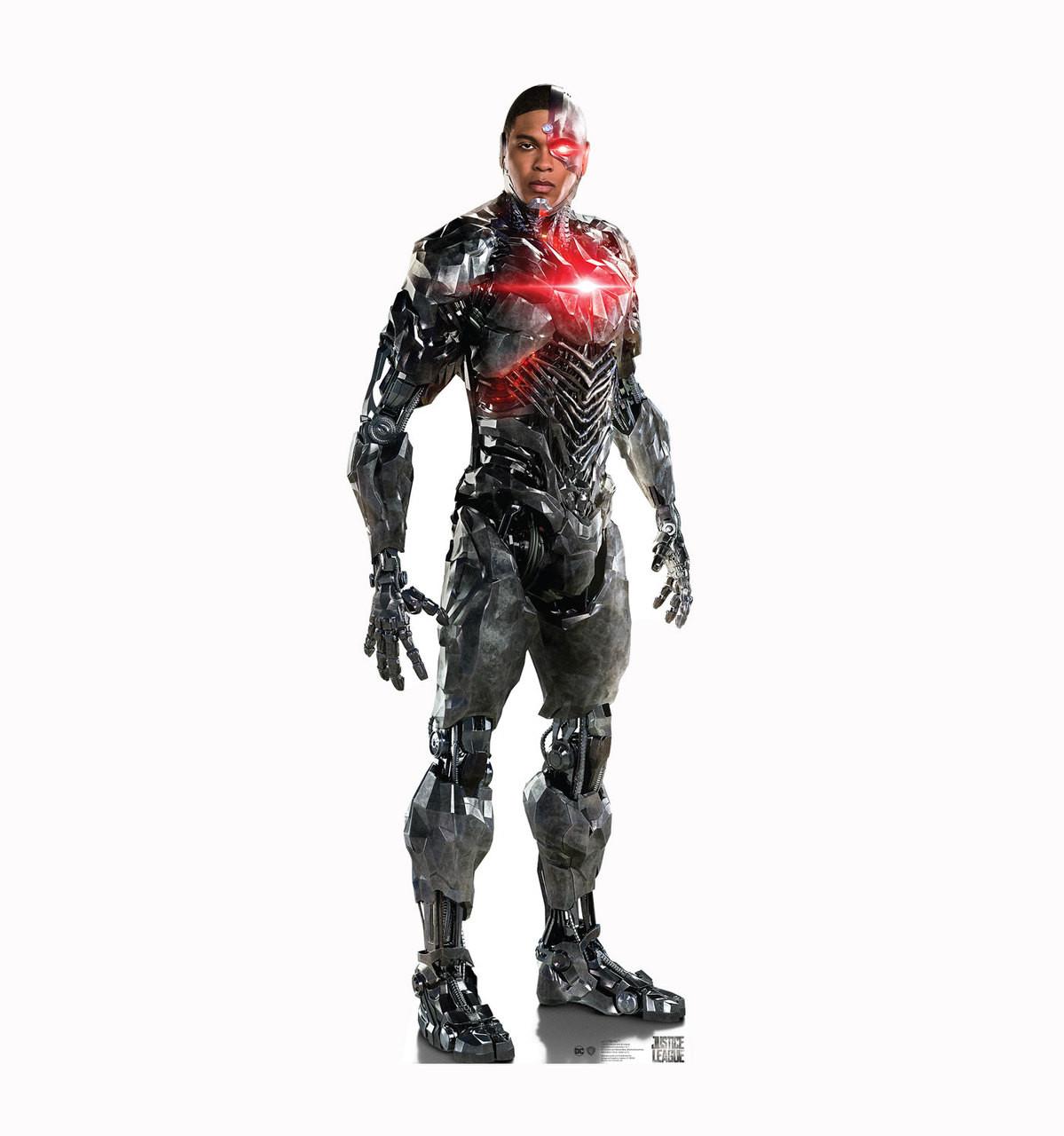 Cyborg-Justice League Cardboard Cutout