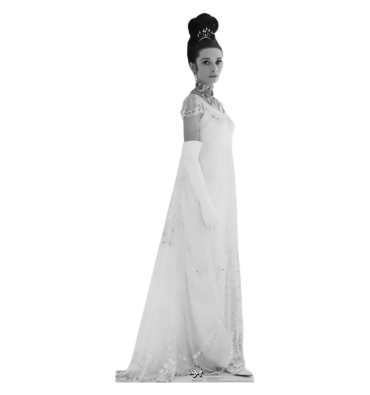 Life-size Audrey Hepburn in My Fair Lady Cardboard Standup ...