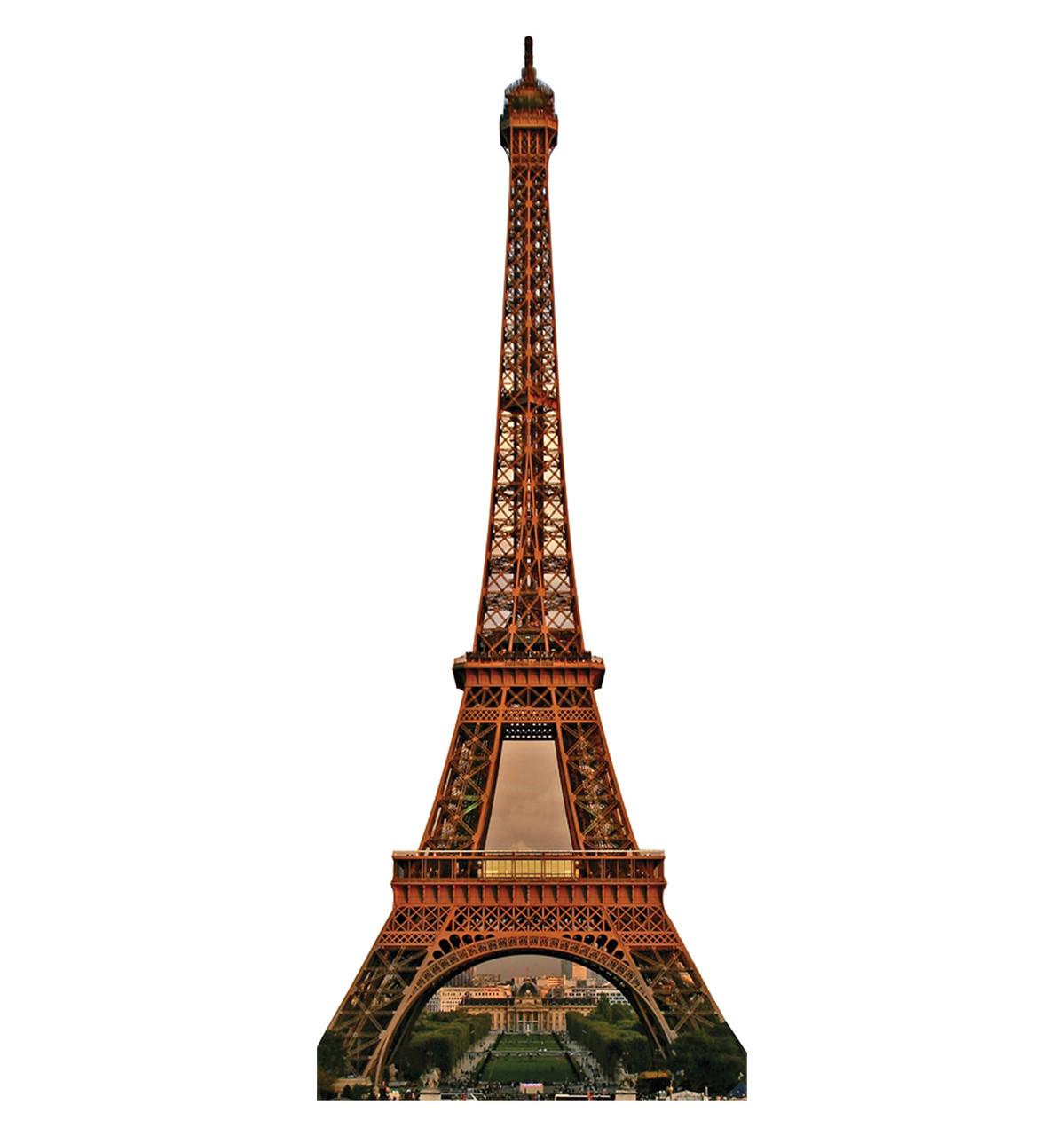 how to build an eiffel tower out of cardboard