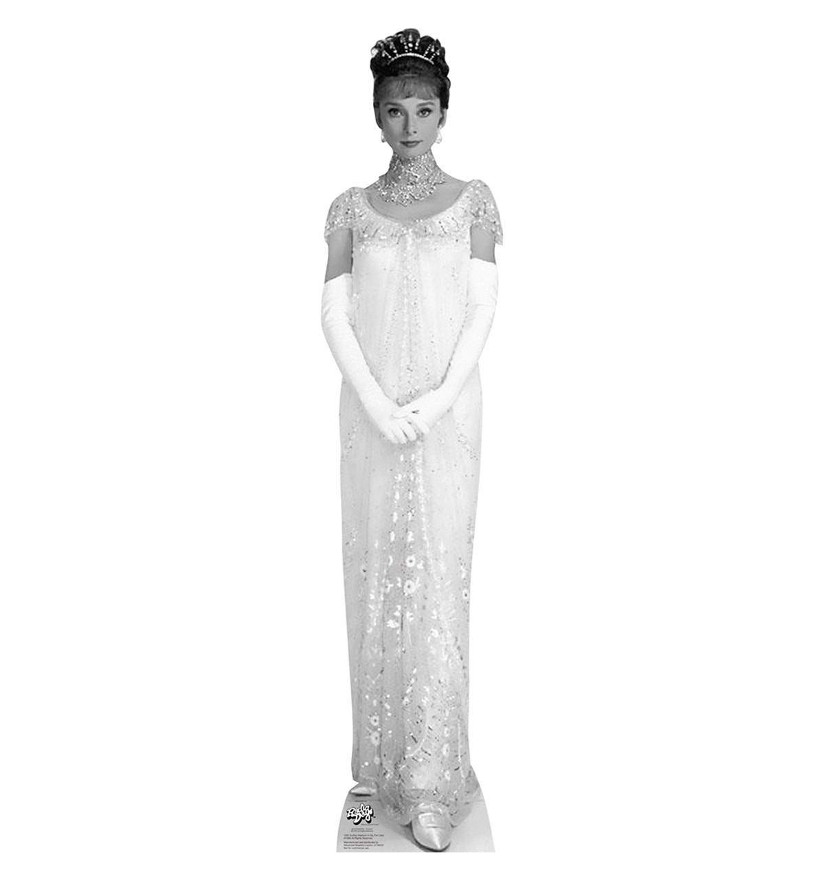 Life-size Audrey Hepburn - My Fair Lady 2 Cardboard Standup ...