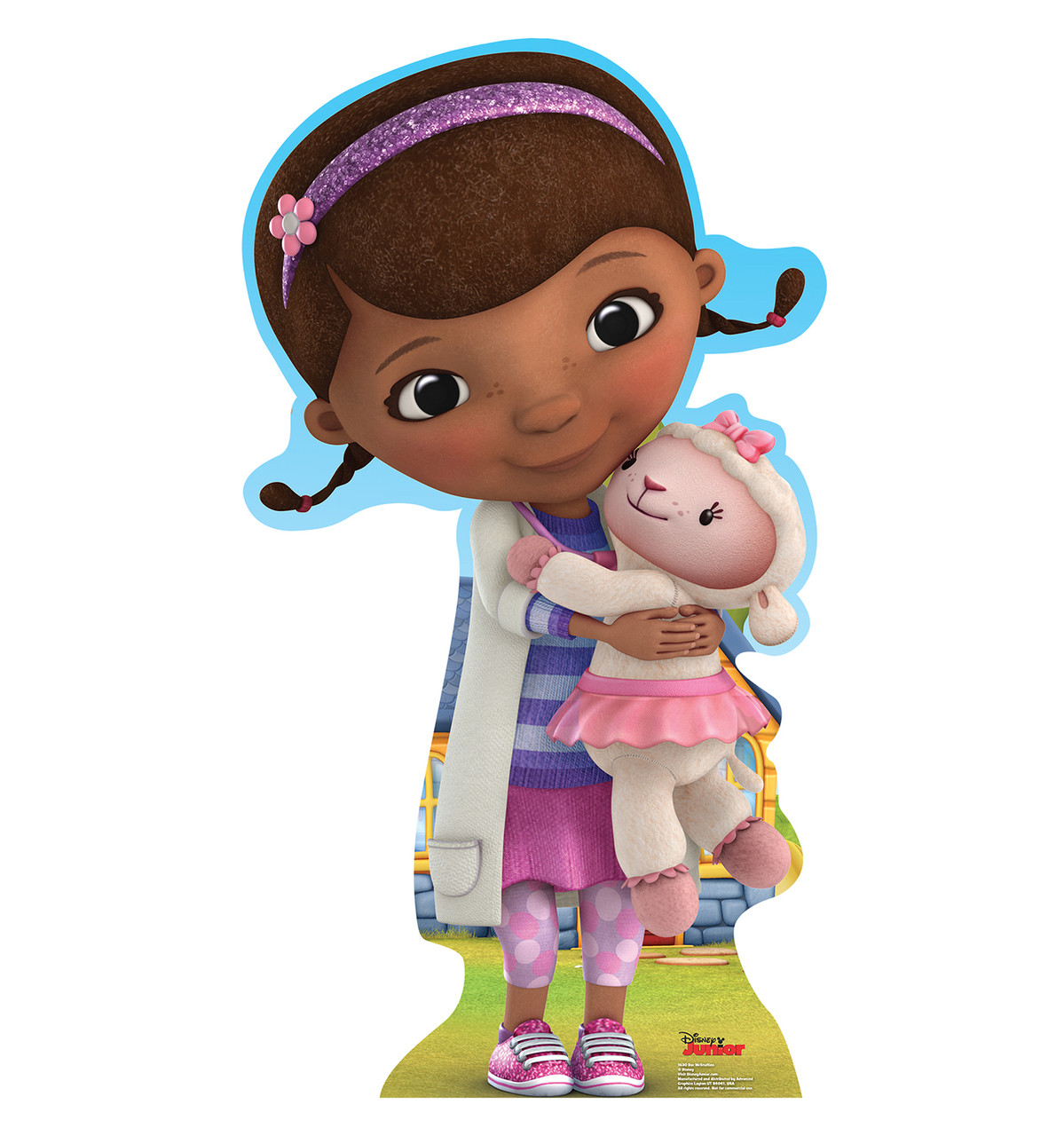 This is a picture of Adaptable Doc Mcstuffins Cutouts