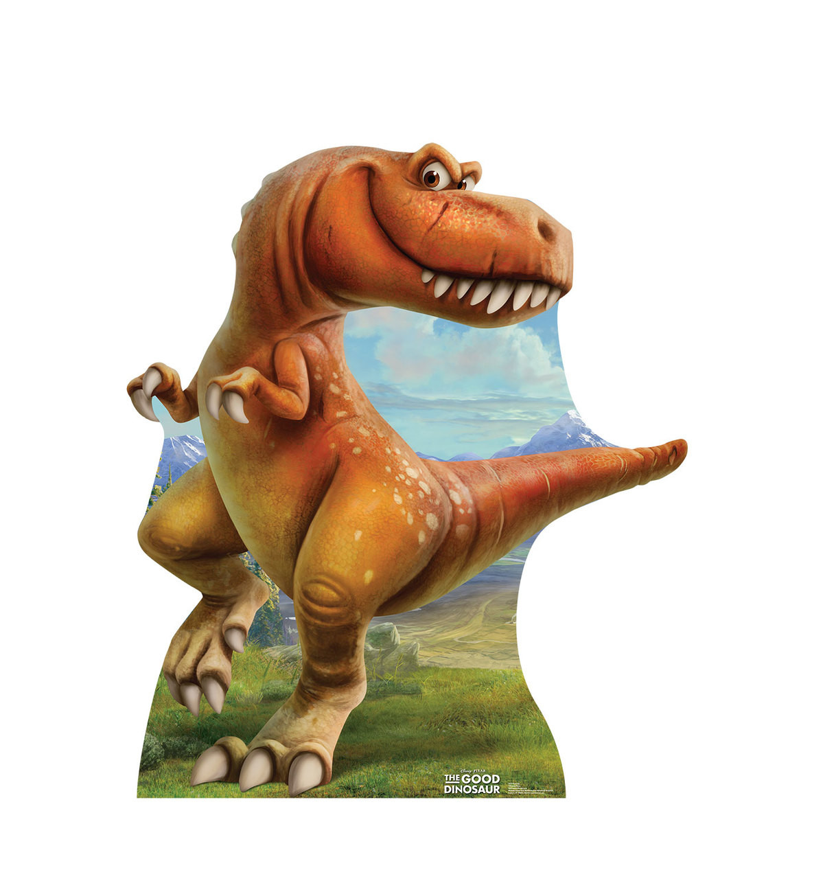 life size ramsey the good dinosaur cardboard standup cardboard cutout