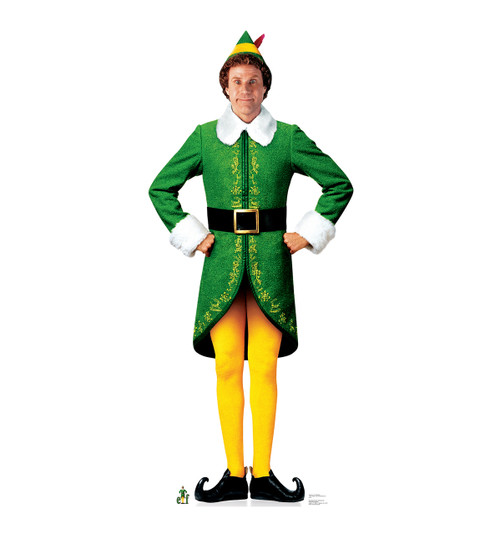 Life-size Buddy the Elf - Movie Elf Cardboard Standup ...