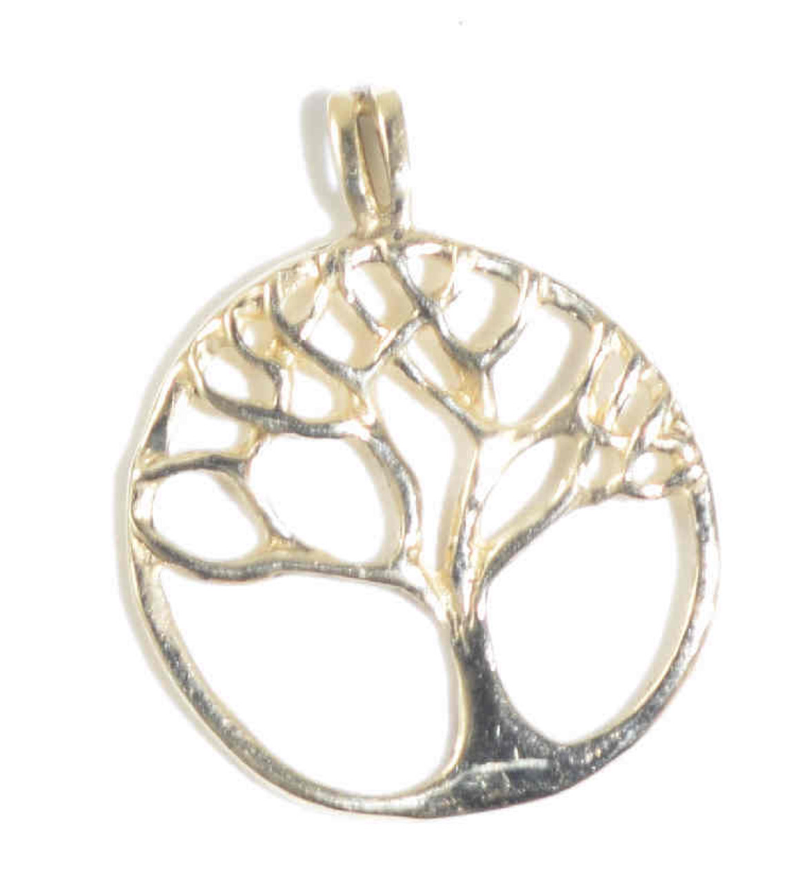 Gold tree of life pendant the gold tree of life pendant is hand crafted in portland maine the pendant aloadofball Image collections