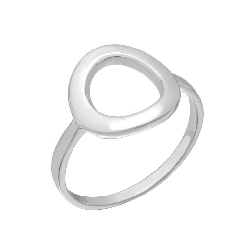 STERLING SILVER OPEN CIRCLE