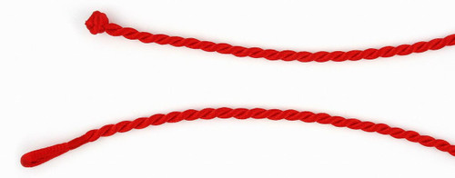 "RED SATIN ROPE CORD 18"" (4MM)"