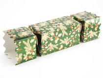 Large Twist End Cracker - Traditional Holly| MeridianSP