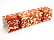 Large Twist End Cracker - Red and Gold Holly| MeridianSP