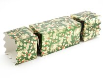 Extra Large Twist End Cracker - Traditional Holly | Meridian Speciality Packaging