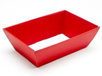 Hamper Tray - Small Card Tray Hamper - Deluxe Red | Meridian Speciality Packaging
