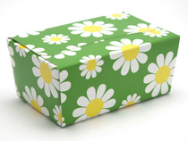 375g Ballotin - Daisy Floral | Meridian Speciality Packaging