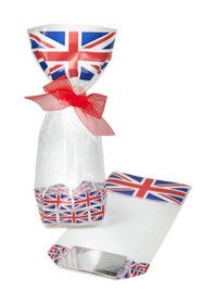 100x220 Hard Bottom Film Bag - Union Jack | MeridianSP