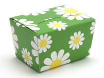 100g Ballotin - Daisy Floral | Meridian Speciality Packaging