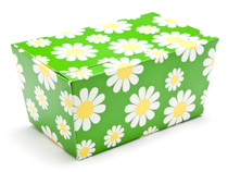 1000g Ballotin - Daisy Floral | Meridian Speciality Packaging