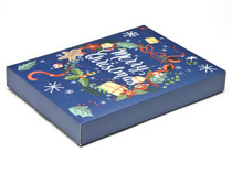 Wreath Premium Light Advent Calendar sized  - Fill it Yourself Advent Calendar Box Ideal for the festive season