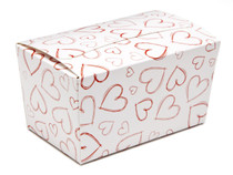 Light Hearts 250g sized Ballotin - Gift Carton Ideal for Valentine's occasions or wedding or gifting
