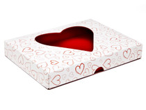 24 Choc Heart Window Lid - Light Hearts - [LID ONLY] | MeridianSP