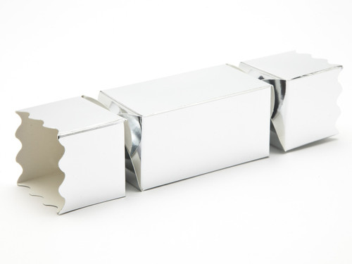 Medium Twist End Cracker - Bright Silver | Meridian Speciality Packaging