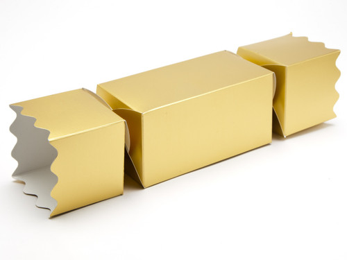 Large Twist End Cracker - Matt Gold | Meridian Speciality Packaging
