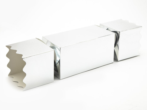Giant Twist End Cracker - Bright Silver | Meridian Speciality Packaging