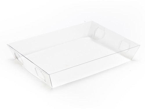 Transparent Lid to fit Small Shallow Hamper Box - Clear | MeridianSP