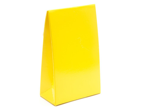 Small A-Frame Carton - Sunshine Yellow | MeridianSP