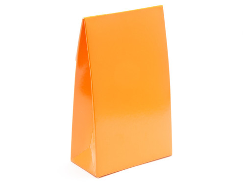Small Orange A-Frame Carton | Meridian Speciality Packaging