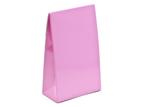 Small Electric Pink A-Frame Carton | Meridian Speciality Packaging