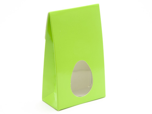 Small Easter Green A-Frame Ctn with Window | Meridian Speciality Packaging