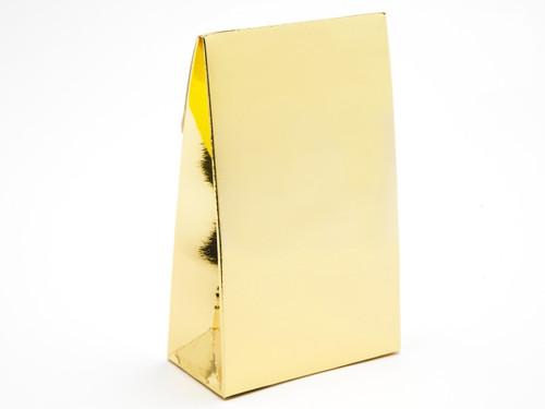 Small Bright Gold A-Frame Carton | Meridian Speciality Packaging