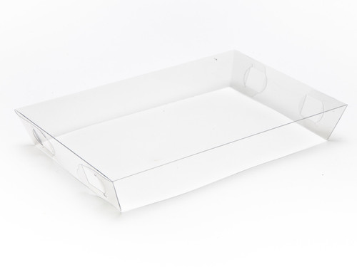 Transparent Lid for Small Hamper Box | Meridian Speciality Packaging