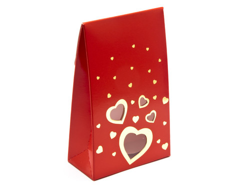 Small Red Love A-Frame Carton | Meridian Speciality Packaging
