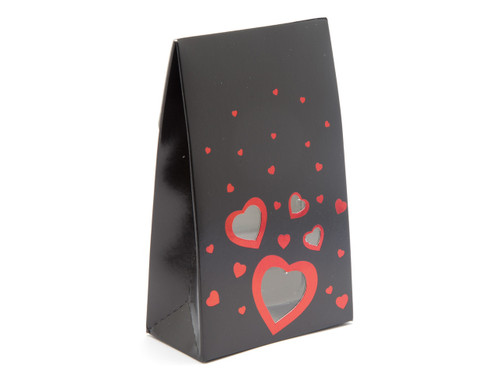 Small Black Love A-Frame Carton | MeridianSP