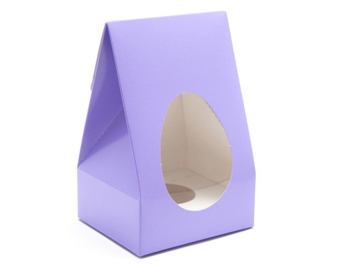 Small Easter Egg Carton and Plinth - Lilac | MeridianSP