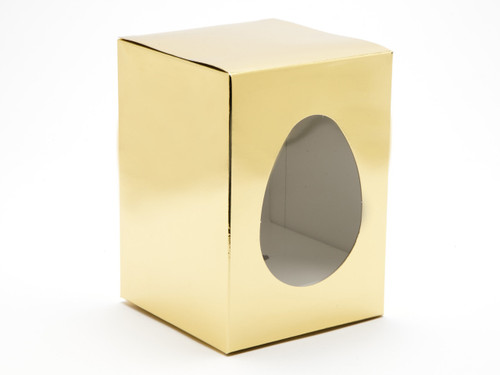 Small Br Gold Easter Egg Carton and Plinth | Meridian Speciality Packaging