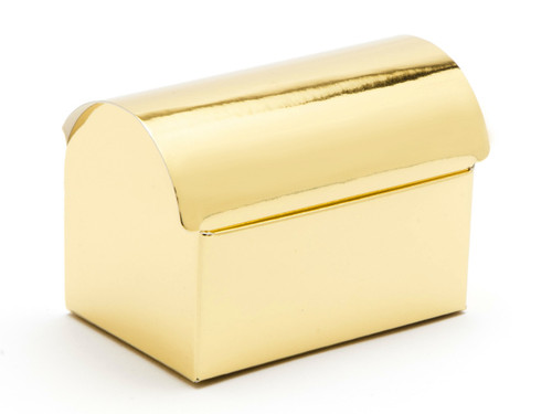Small Bright Gold Chest Carton | Meridian Speciality Packaging