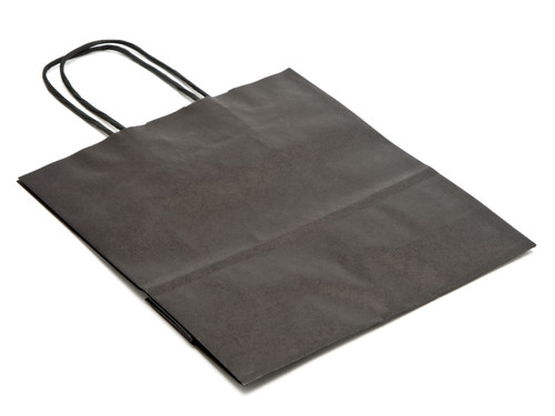 Small Black Kraft Paper Carrier | Meridian Speciality Packaging