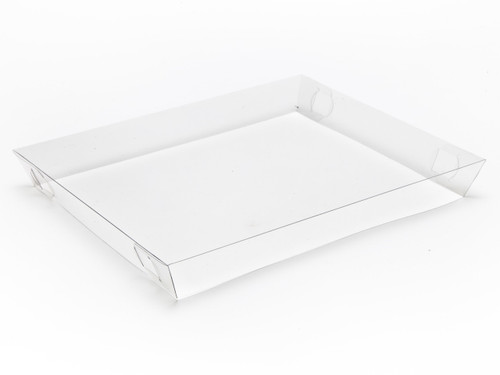 Transparent Lid for Medium Hamper Box | Meridian Speciality Packaging