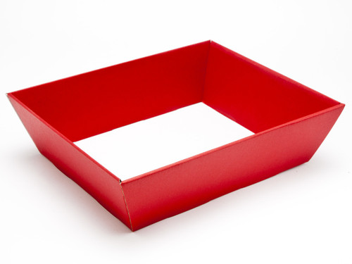 Medium Card Hamper Tray - Deluxe Red| MeridianSP