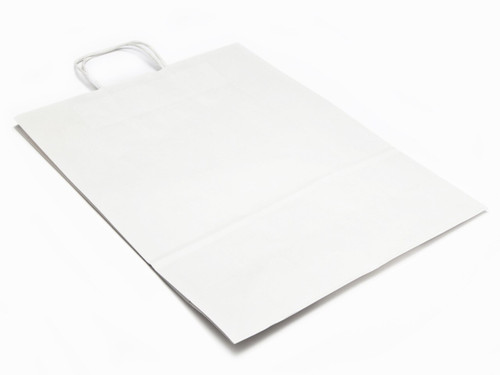 Large White Kraft Paper Carrier | Meridian Speciality Packaging