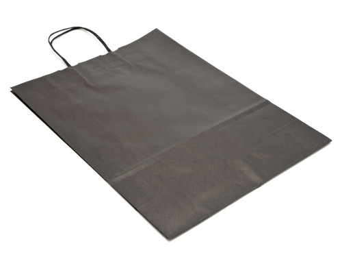 Large Black Kraft Paper Carrier | Meridian Speciality Packaging