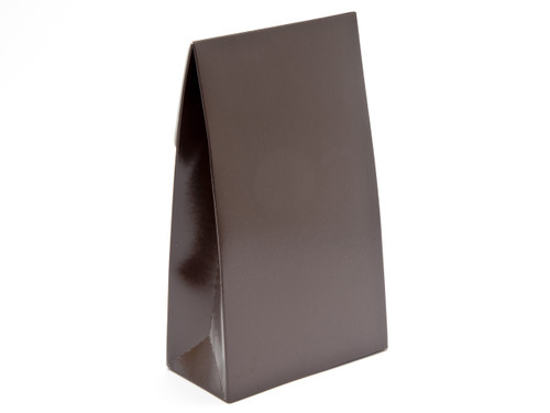 Large Chocolate Brown A-Frame Carton | Meridian Speciality Packaging