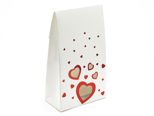 Large White Love A-Frame Carton | Meridian Speciality Packaging