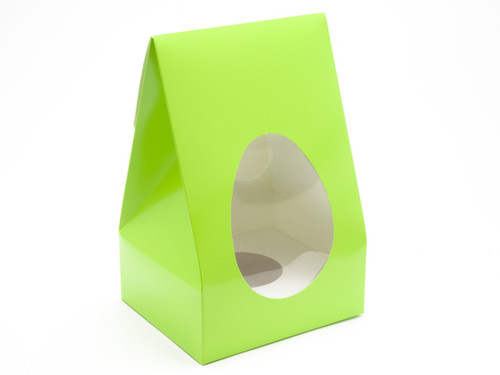 Lge Easter Green Tapered Egg Ctnand Plinth | Meridian Speciality Packaging