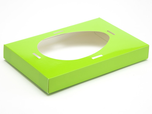 Large Easter Green Easter Egg Plinth | Meridian Speciality Packaging