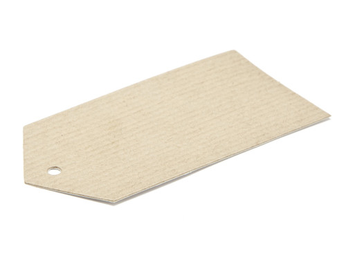 Swing Tag - Premium Ribbed Kraft | MeridianSP