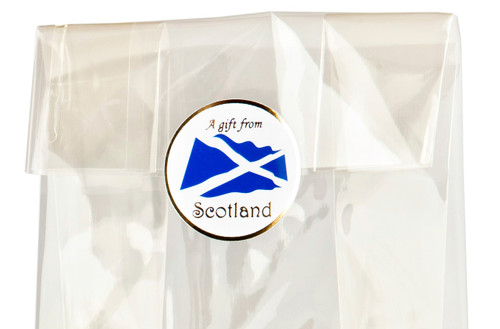 32mm Round Gift Label - A Gift From Scotland (250pcs) | Meridian Speciality Packaging