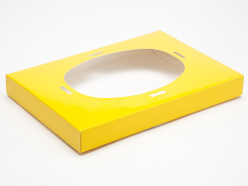 Ex Lge Sunshine Yellow Easter Egg Plinth | Meridian Speciality Packaging